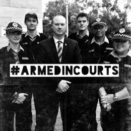 Why police officers need to be #ArmedInCourts