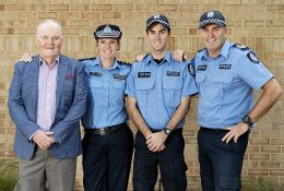 Four generations in the force